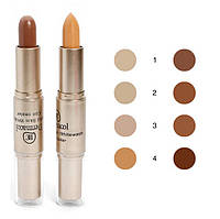 Консиллер-стик 2 в 1 Dermacol Highlight and Contour Waterproof SPF 30