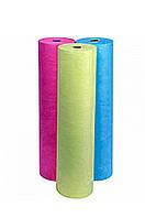 """Простынь одноразовая """"Rio"""" (голубая,розовая,белая) 0.8x100 п.м в рулоне"""