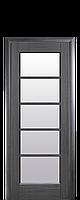 Межкомнатная дверь Муза стекло сатин Grey