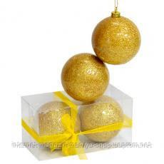 Шарики Li-A502643 G10 2 шт золотой