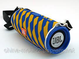 JBL Charge 3 Zap mini A+ в стилі xtreme, портативна колонка з Bluetooth FM MP3, жовте з синім, фото 2