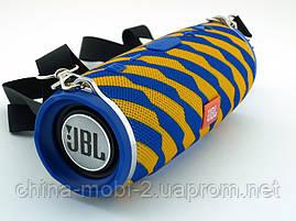 JBL Charge 3 Zap mini A+ в стилі xtreme, портативна колонка з Bluetooth FM MP3, жовте з синім, фото 3