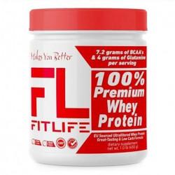 Протеїн FitLife 100% Premium Whey Protein 450g