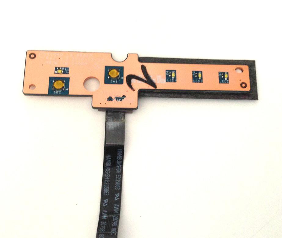 Кнопка включения плата шлейф для ноутбука Lenovo Y570
