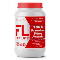 Протеин FitLife 100% Premium Whey Protein 908g