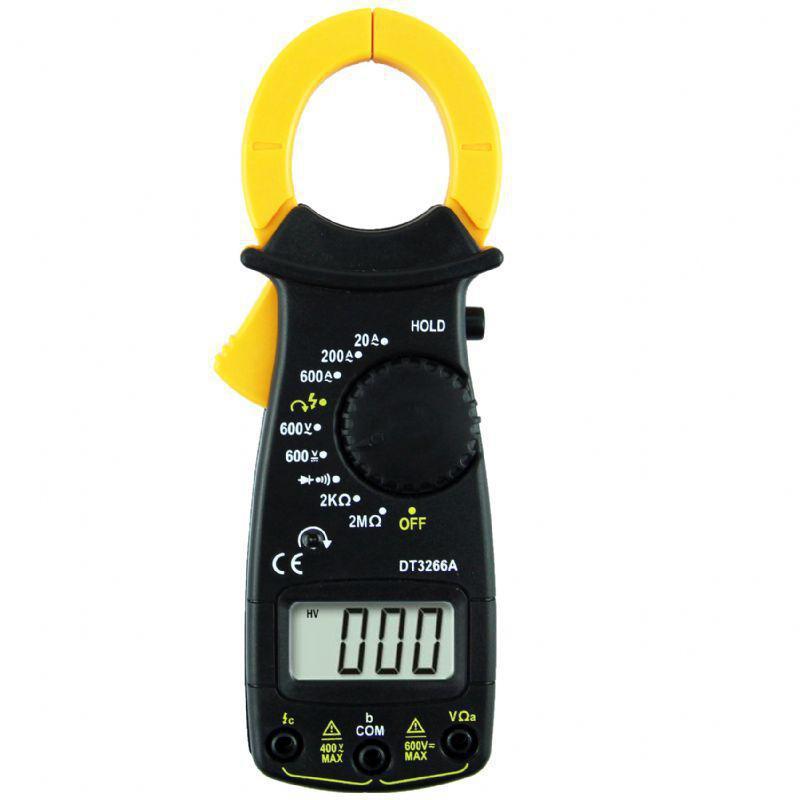Мультиметр цыфровой с функцией hold DT 3266А (токоизмерительные клещи)
