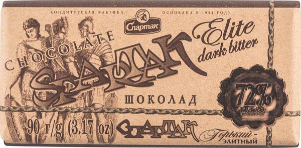 Шоколад Спартак Брют 72% 90г