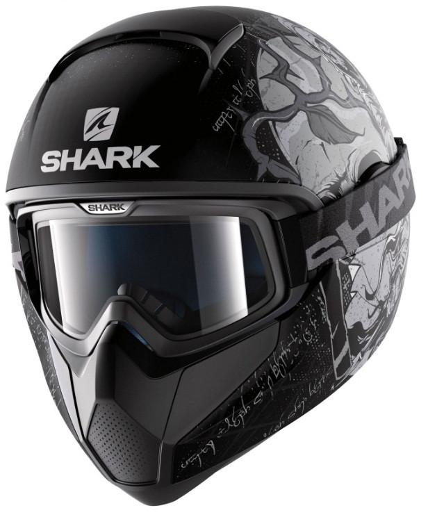 Шлем Shark Vancore Ashtan р.L черно-серый матовый