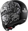 Шлем Shark Vancore Ashtan р.L черно-серый матовый, фото 2
