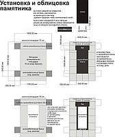 Как установить памятник, установка и облицовка гранитного памятника своими руками
