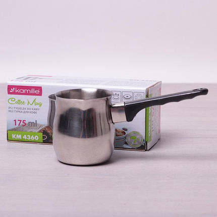 Турка для кави с нержавеющей стали, 175мл , фото 2