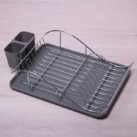 Сушарка для посуды  52*32*13 смхромированая сталь. С поддоном