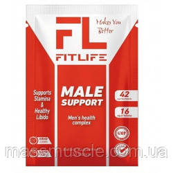 Тестостероновый бустер FitLife Male Support 20 tabs