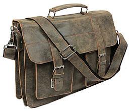 Портфель из натуральной кожи A-art TSM1103-1 коричневый