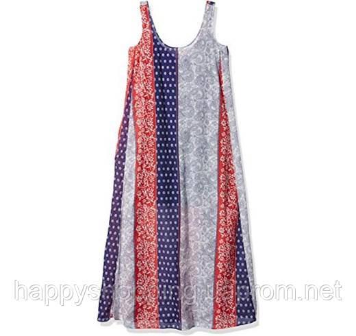 Женское разноцветное макси платье итальянского бренда STEFANEL