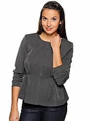 Женский пиджак темно серого цветаCeline Jacket от Minimum в размере L