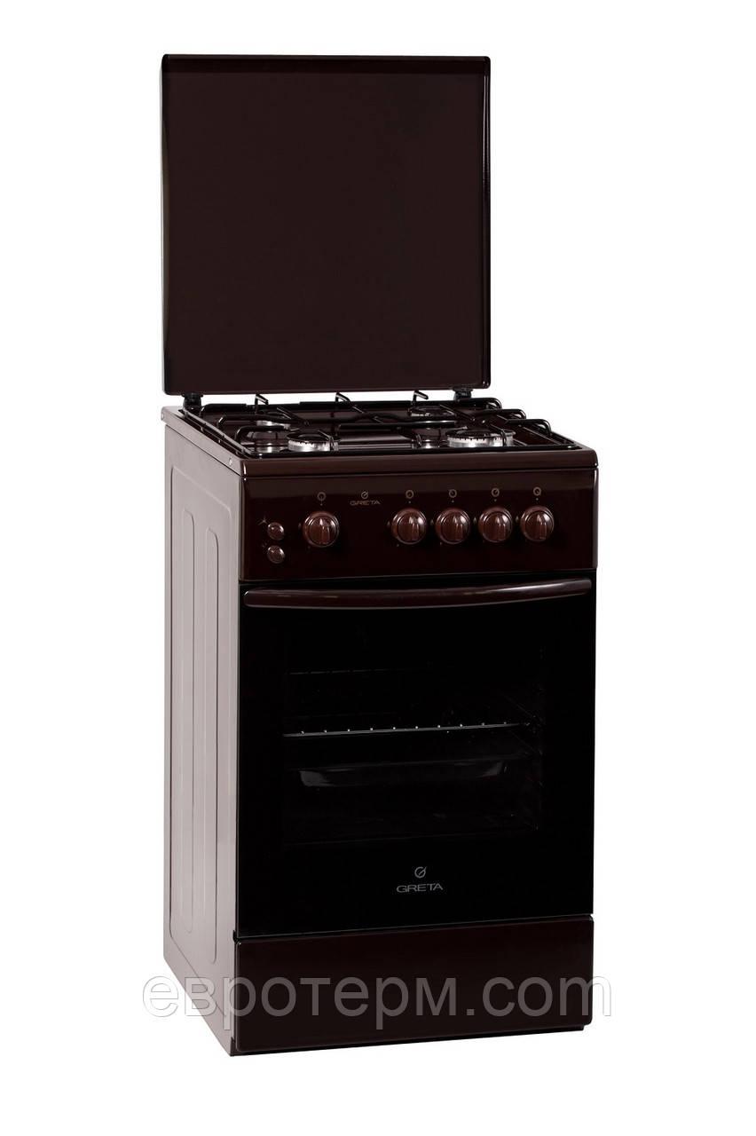 Газовая плита GRETA 1470-00-06 BM коричневая