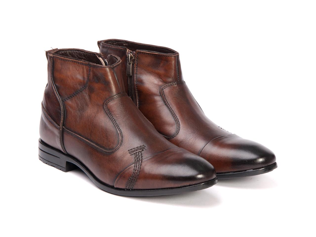 Ботинки Etor 10114-7040 коричневые