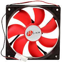 Вентилятор корпусный PROLOGICX 3 pin питание 110 mm куллер для корпуса