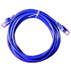 Патч-корд Lesko RJ45 5m Сетевой кабель для соединения пк ноутбука роутера маршрутизатор роутер интернет кабеля