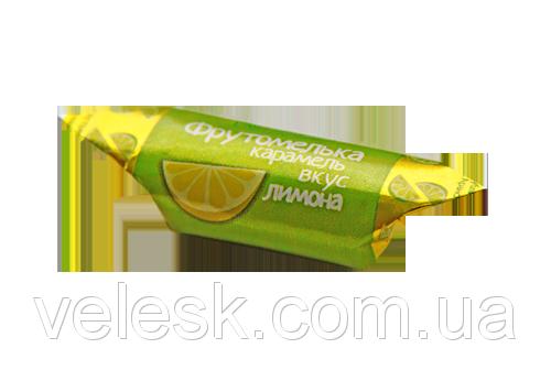 Карамель Коммунарка Фрутомелька вкус лимона, фото 2