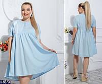 214b5434bb2 Выгодные предложения на Женские платья размер 50-56 оптом в Украине ...