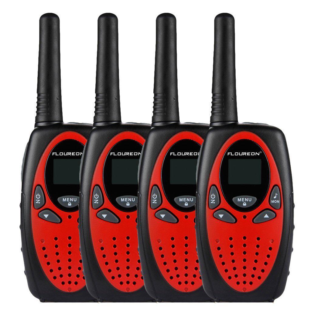 Набор из 4 раций FLOUREON XF-638 Walkie Talkie 400-470 Мгц 3KM 8 каналов