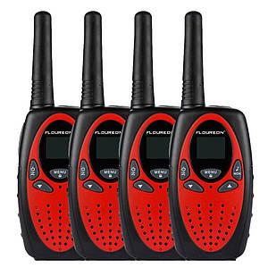 Набор из 4 раций FLOUREON XF-638 Walkie Talkie 400-470 Мгц3KM8 каналов