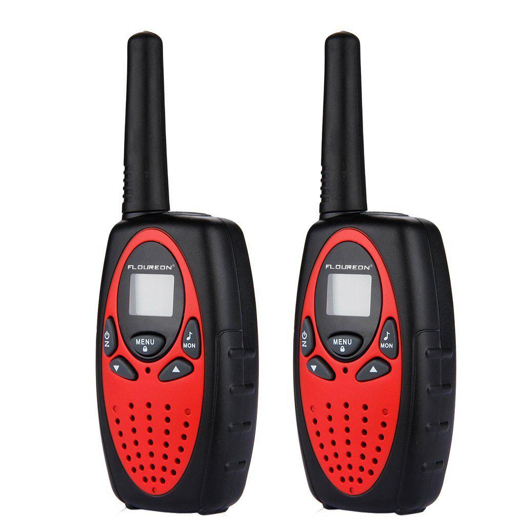 Набор из 3 раций FLOUREON XF-638 Walkie Talkie 400-470 Мгц 3KM 8 каналов