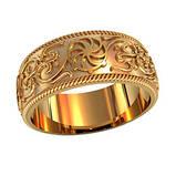 Кольцо обручальное Колесо фортуны 750180, фото 2