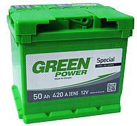 Аккумулятор GREEN POWER 6СТ-50Ah 420A (1) левый +L