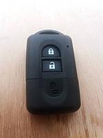 Корпус смарт ключа для NISSAN (Ниссан) Кашкай, Х-Трейл, Микра, Ноут, тиида 2 - кнопки