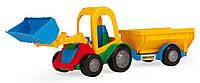 Трактор Wader з ковшом та прицепом 39229