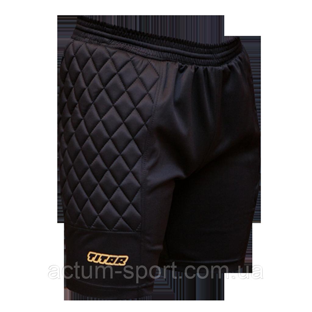 Вратарские шорты Classic Titar Черный, XL