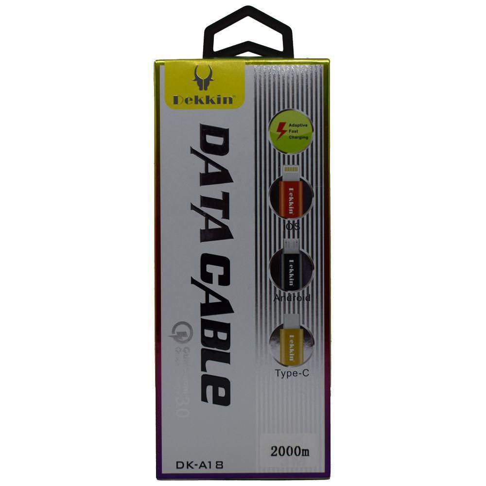 USB кабель DEKKIN DK-A18 2m