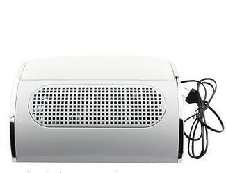 Вытяжка для маникюра 3 вентилятора Simei 858-5, белая, 60W