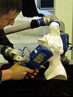 Создание матмодели по образцу, сканирование, контроль геометрических параметров