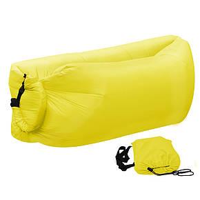 Надувной гамак Lamzac yellow, фото 2