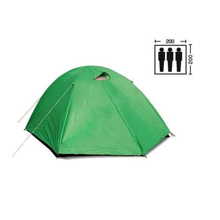Палатка трехместная Mountain Outdoor SY-007, 200х200х135 см, фото 2