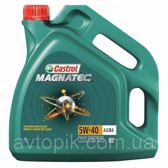 Моторное масло Castrol Magnatec А3/В4 5W-40 (4л.)