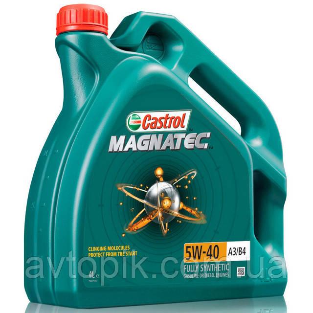 Моторное масло Castrol Magnatec А3/В4 10W-40 (4л.)