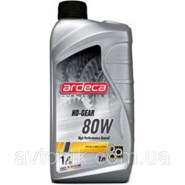Трансмиссионное масло Ardeca HD-Gear 80W (1л.)