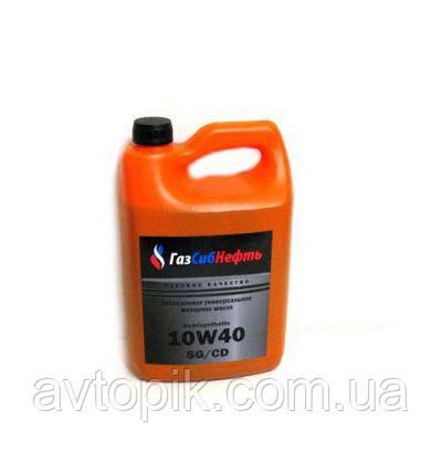 Моторное масло ГазСибНефть Semisynthetic 10W-40 (4л.)