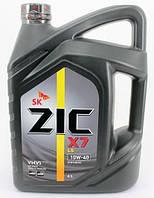 Моторное масло ZIC X7 LS 10W-40 (6л.)