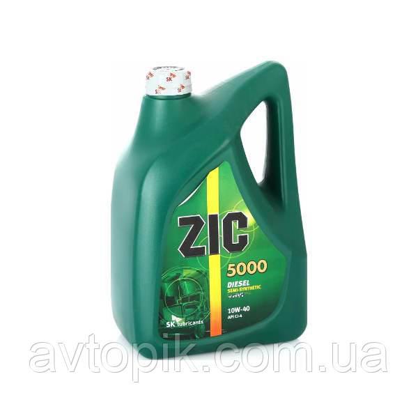 Моторное масло ZIC 5000 10W-40 (6л.)