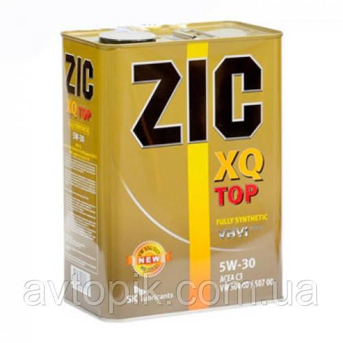 Моторное масло ZIC XQ TOP 5W-30 (4л.)