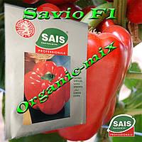Перец сладкий ранний красный САВИО F1 / SAVIO F1, проф. пакет 100 семян ТМ Sais (Италия), фото 1