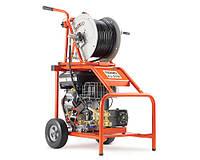 Прочистная гидродинамическая машина RIDGID KJ-3100 с бензиновым двигателем