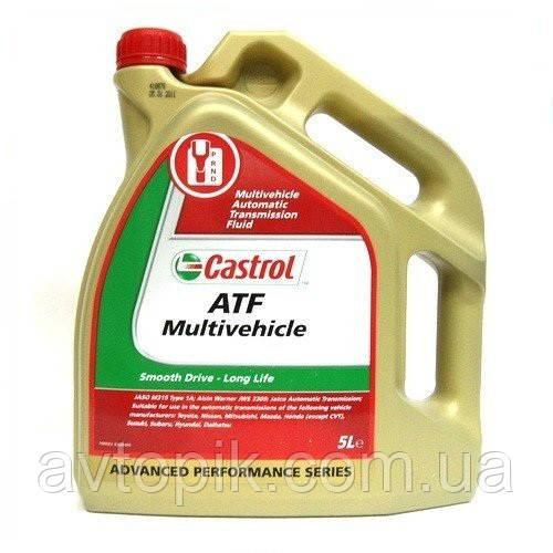 Трансмиссионное масло Castrol ATF Multivehicle (5 л.)