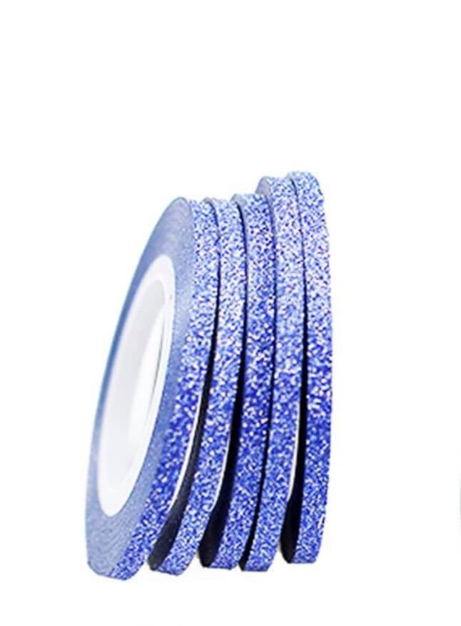 Сахарная нить для ногтей в рулоне STZ синий 3 мм